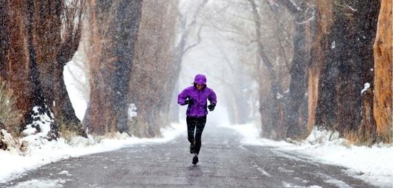 correr nieve run