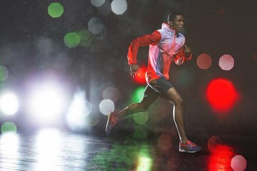 correr run rain lluvia