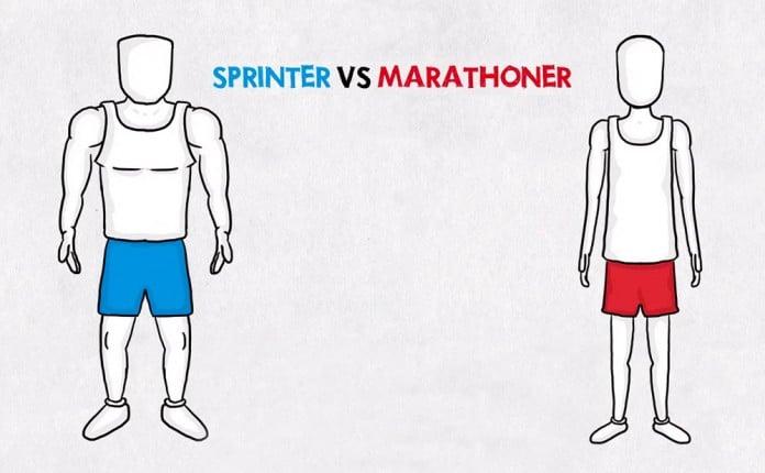 maratoniano y velocista diferencias 3cab