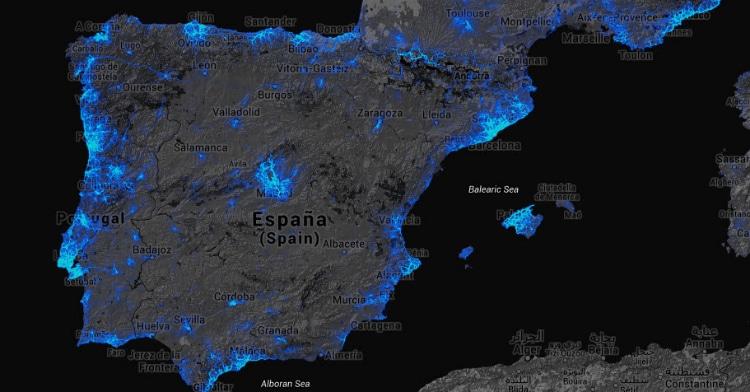 strava heatmap mapa de calor espana
