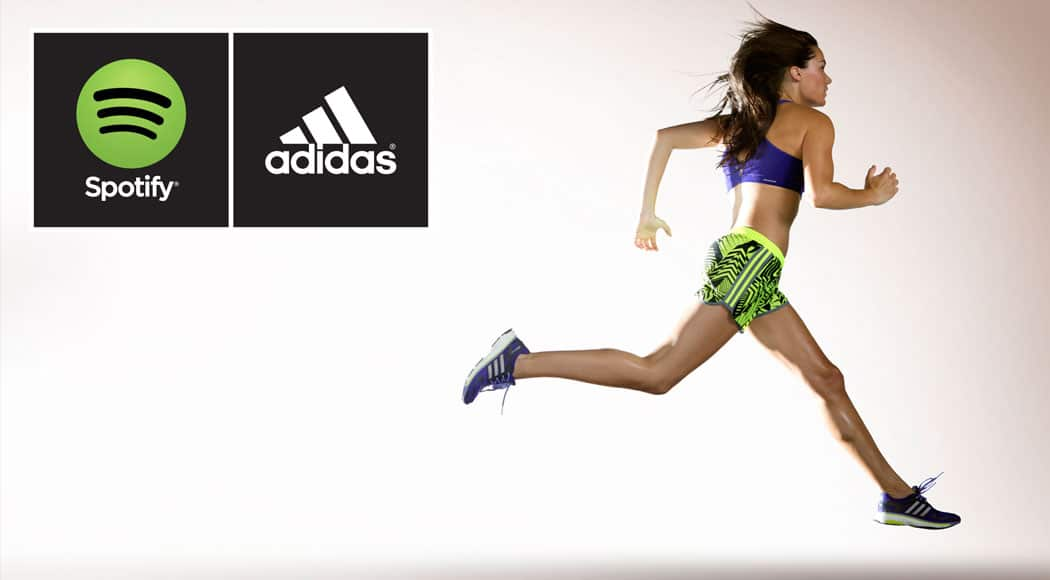 musica deporte adidas y spotify