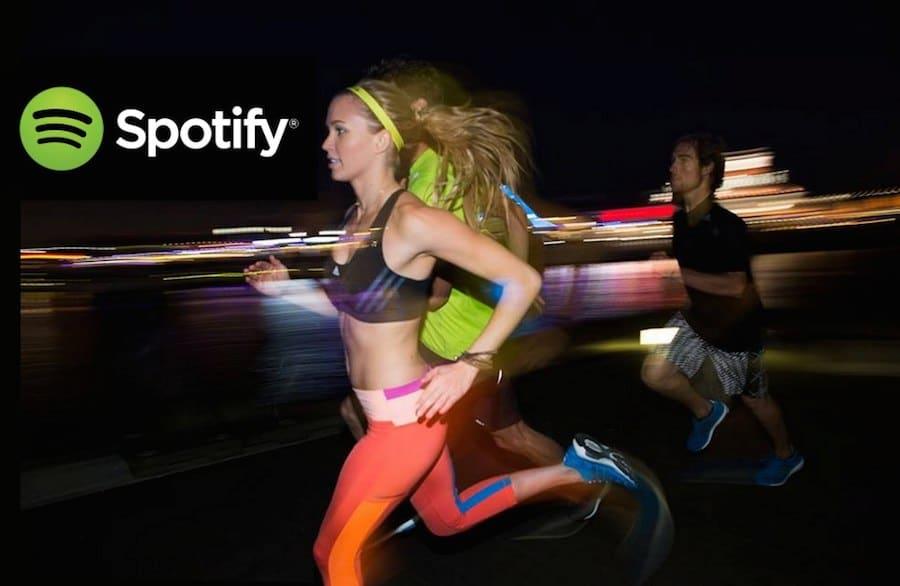 musica spotify y adidas