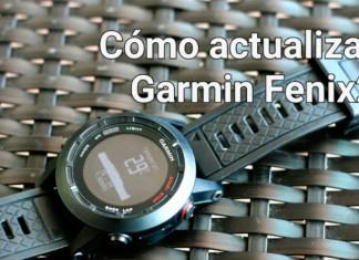 firmware garmin fenix2 actualizar