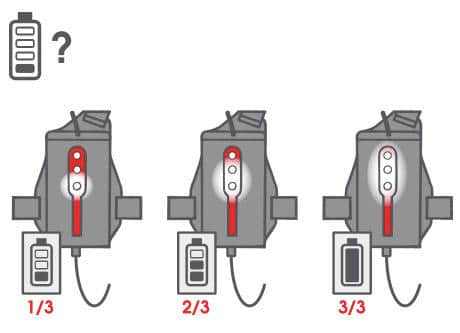 bateria 2 kalenji run light