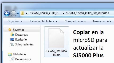 firmware sj5000 plus copiar