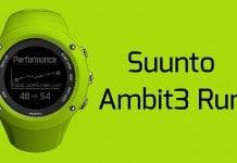 Suunto Ambit3 Run cabecera
