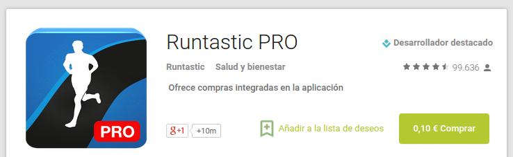 runtastic pro