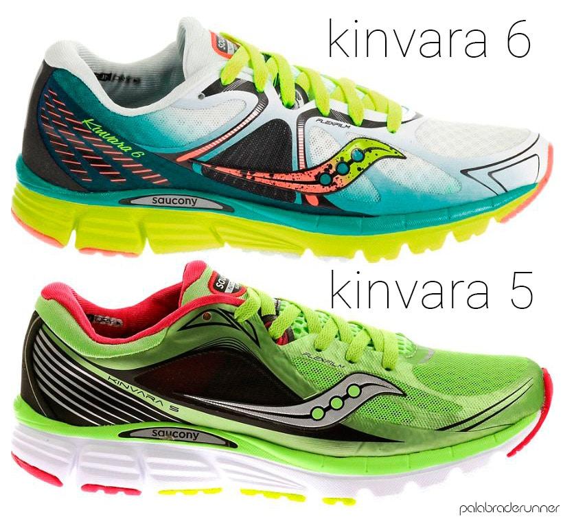 diferencias Saucony Kinvara 6 y 5