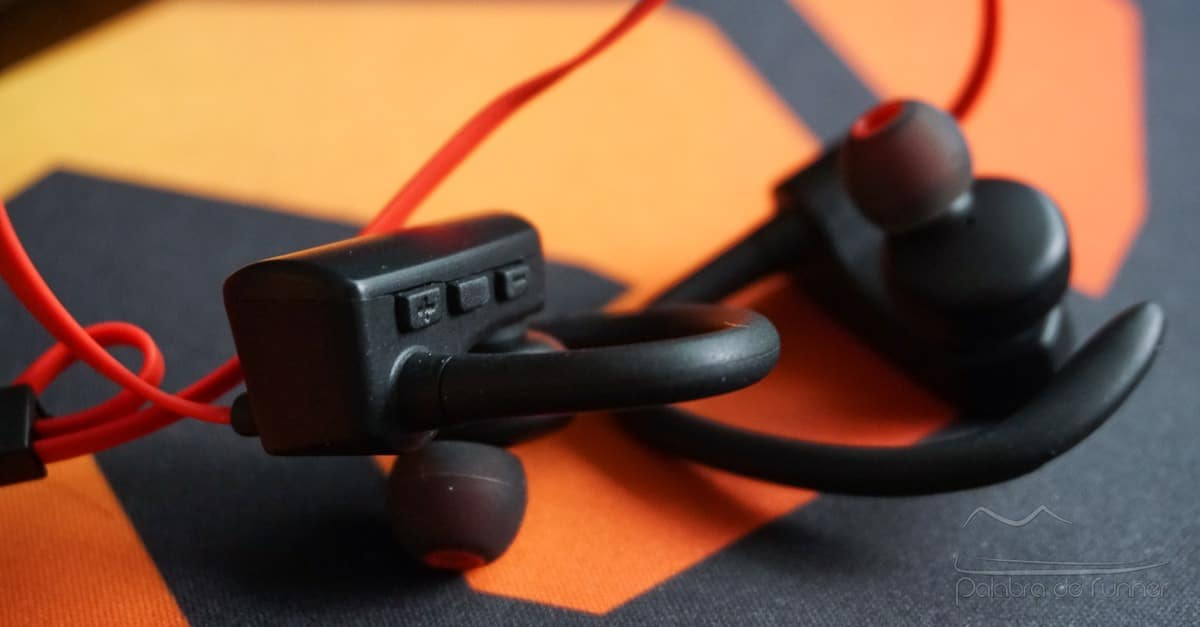 auriculares bluetooth soundpeats q9A botones