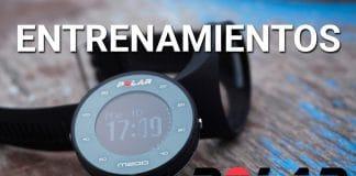 entrenamientos relojes gps polar flow