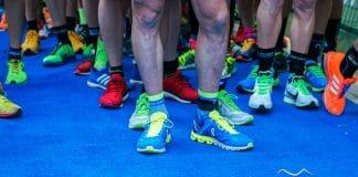 zapatillas y corredores