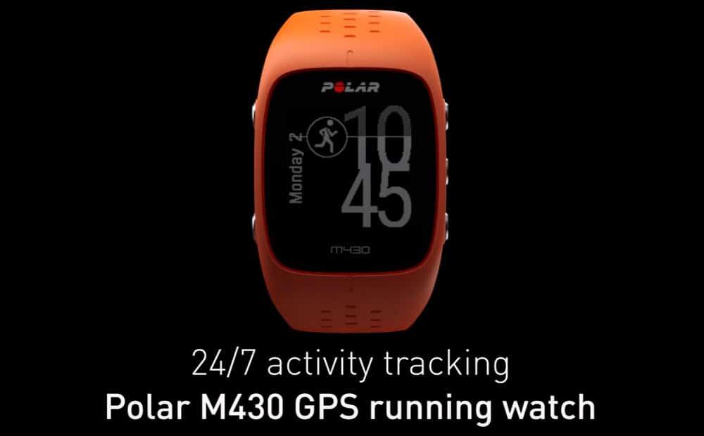 polar m430 naranja
