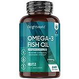 Omega 3 Cápsulas de Alta Dosis 2000mg, Aceite de...
