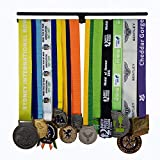 Exhibición de la suspensión de la medalla,...