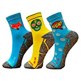 HOOPOE Pack Calcetines Running Mix, 3 Pares,...