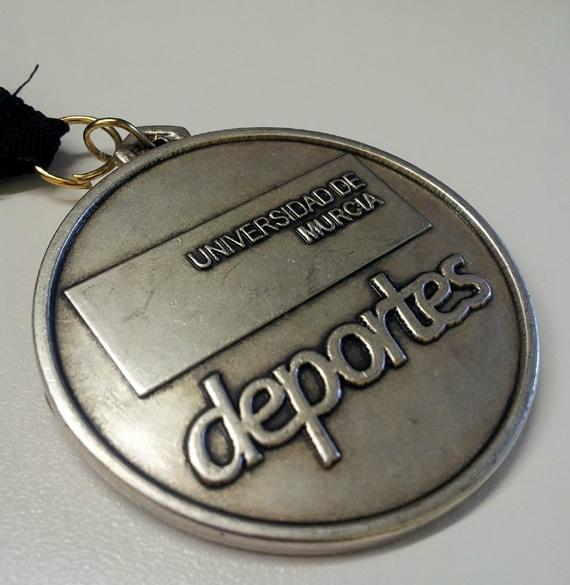 medalla carrera um bum