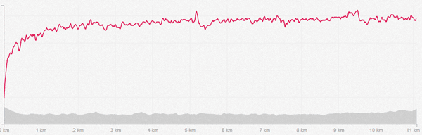 Pico pulsaciones HRM fallo bien constante