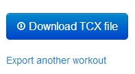download tcx mapmyride
