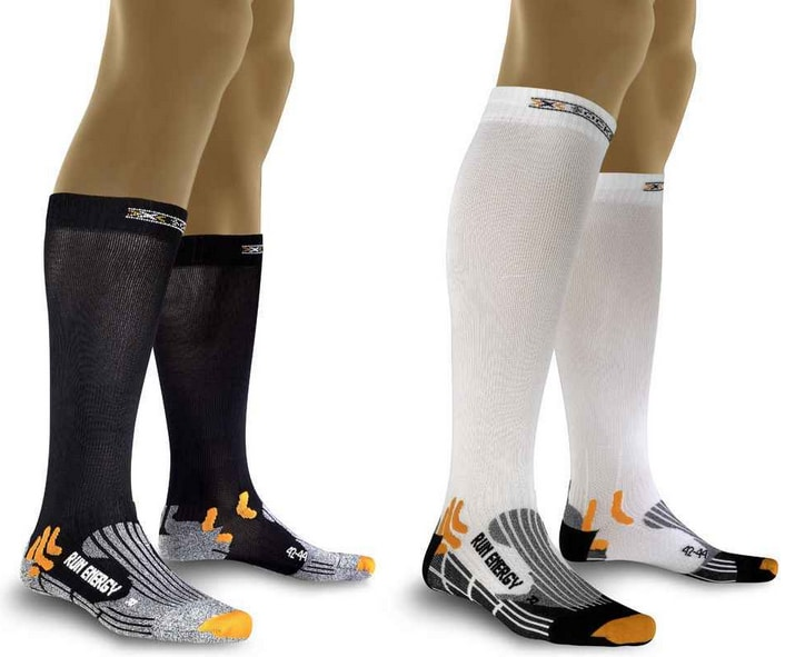 X-Socks-compresion running calcetas medias