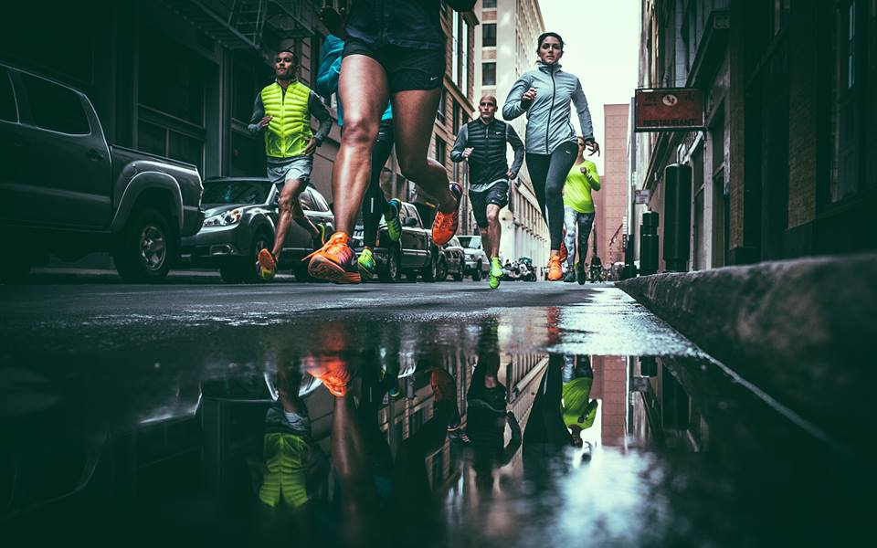 correr gente