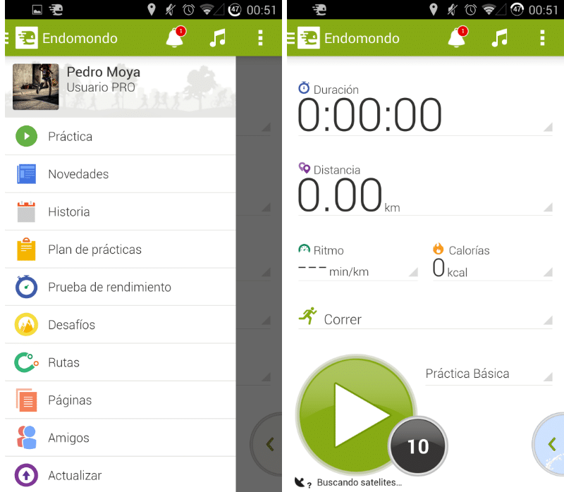 endomondo android descargar gratis
