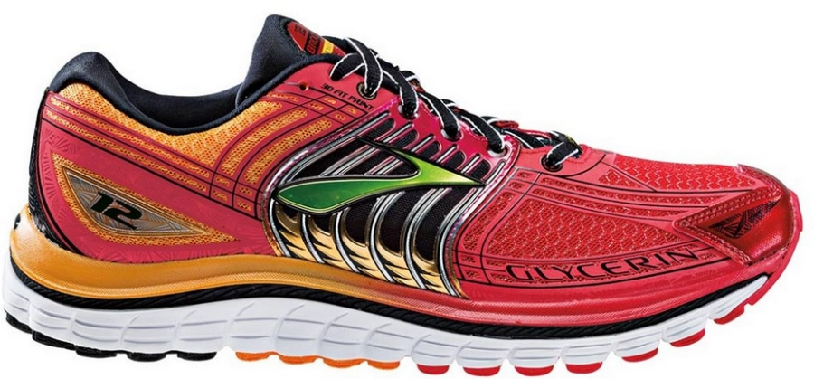 brooks glycerin 12 rojas