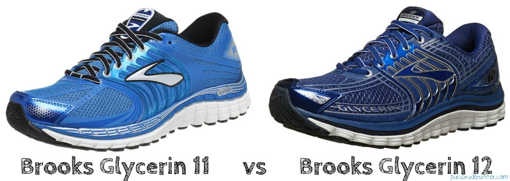 comparativa Brooks glycerin 12 11 pdr