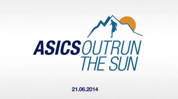 outrun the sun asics