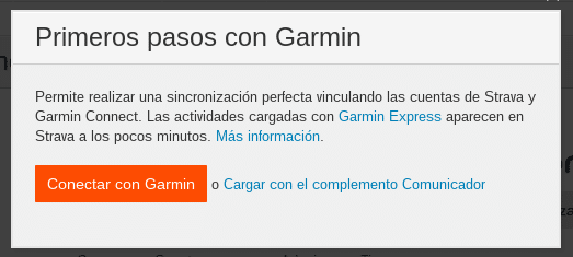 cargar connect strava