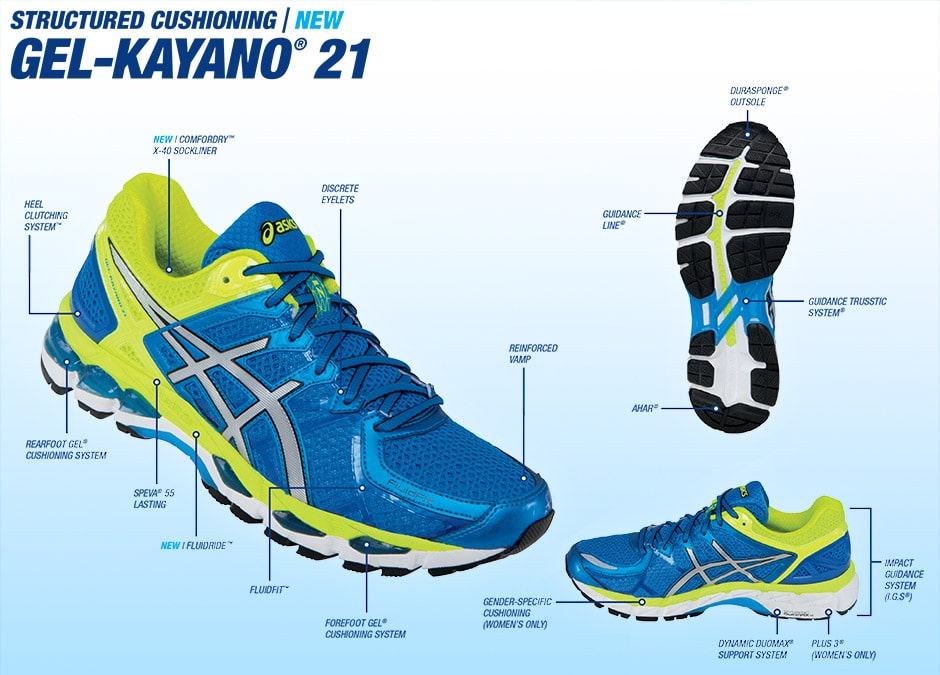 Asics Gel Kayano 21 Zapatillas de correr