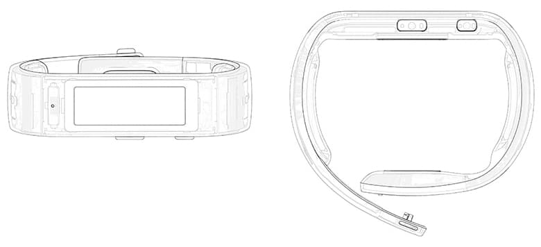 microsoft band esquema