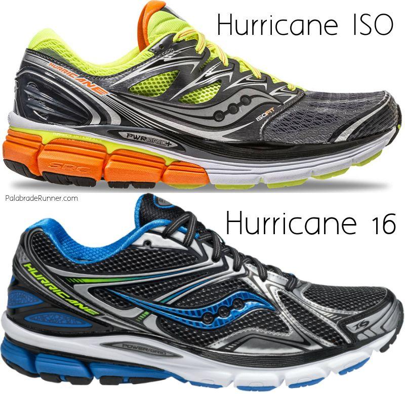 diferencias saucony hurricane iso 16