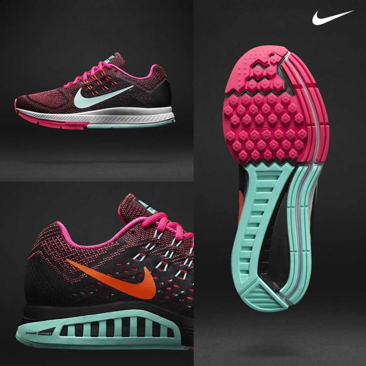 nike structure 18 mujer