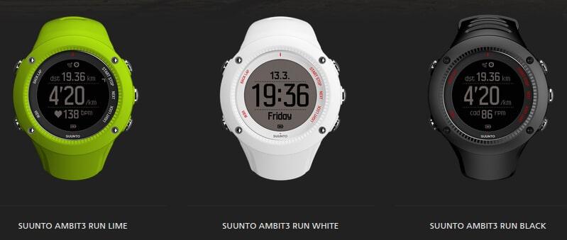 Suunto Ambit3 Run modelos