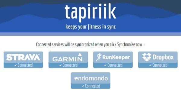 tapiriik sincronizacion automatica