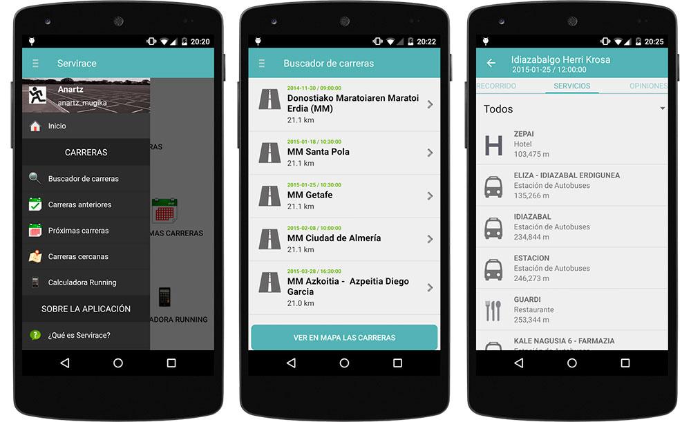 ServiRace-App-funciones