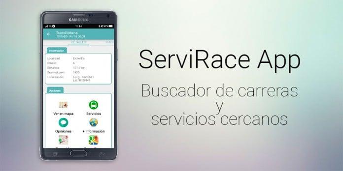 Servirace App buscador de carreras