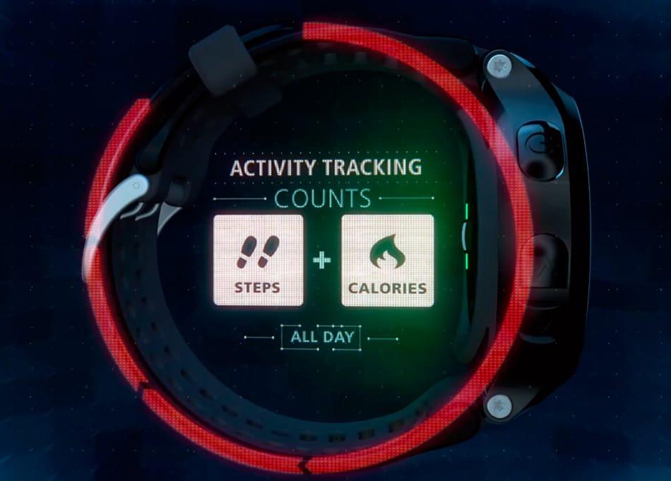 medidor de actividad forerunner 225