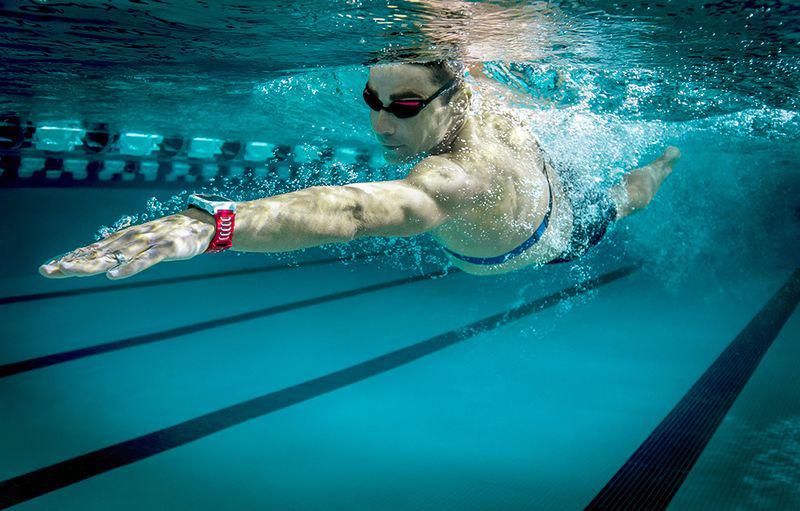 natacion pulsaciones garmin hrm swim