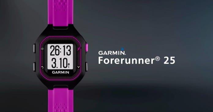 Garmin-forerunner-25-caracteristicas