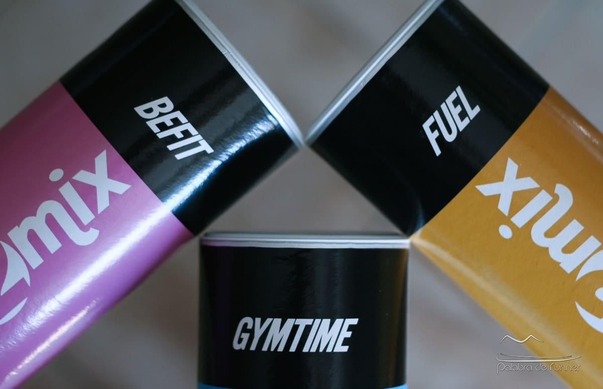 Muesli2Mix GymTime Fuel Befit botes