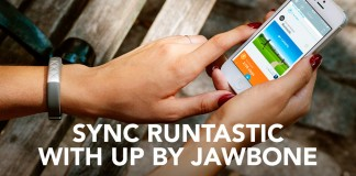 sincronizar Runtastic y UP de Jawbone