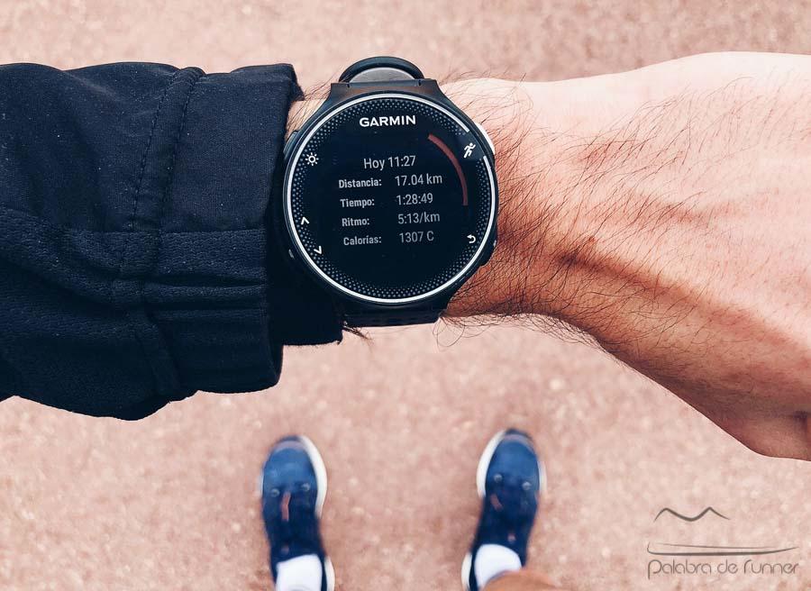 garmin forerunner entrenamiento maraton