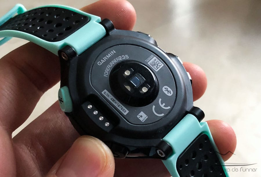 Garmin Forerunner 235 sensor optico opinion