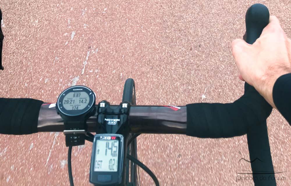 Garmin forerunner 230 235 ciclismo