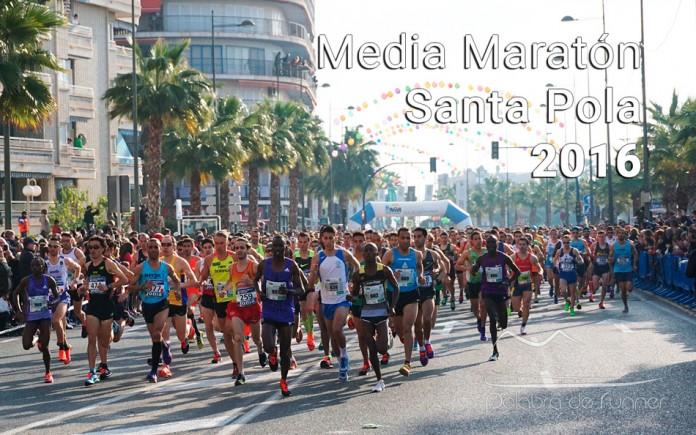 Fotos de la Media Maratón de Santa Pola 2016