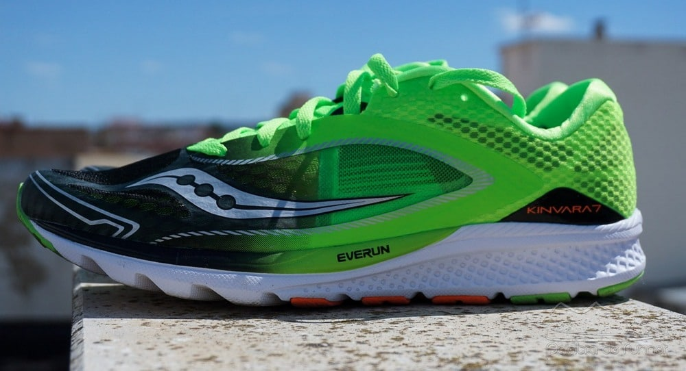 Saucony Kinvara 7 opinion lateral