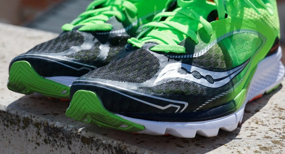 Saucony Kinvara 7 opinion upper