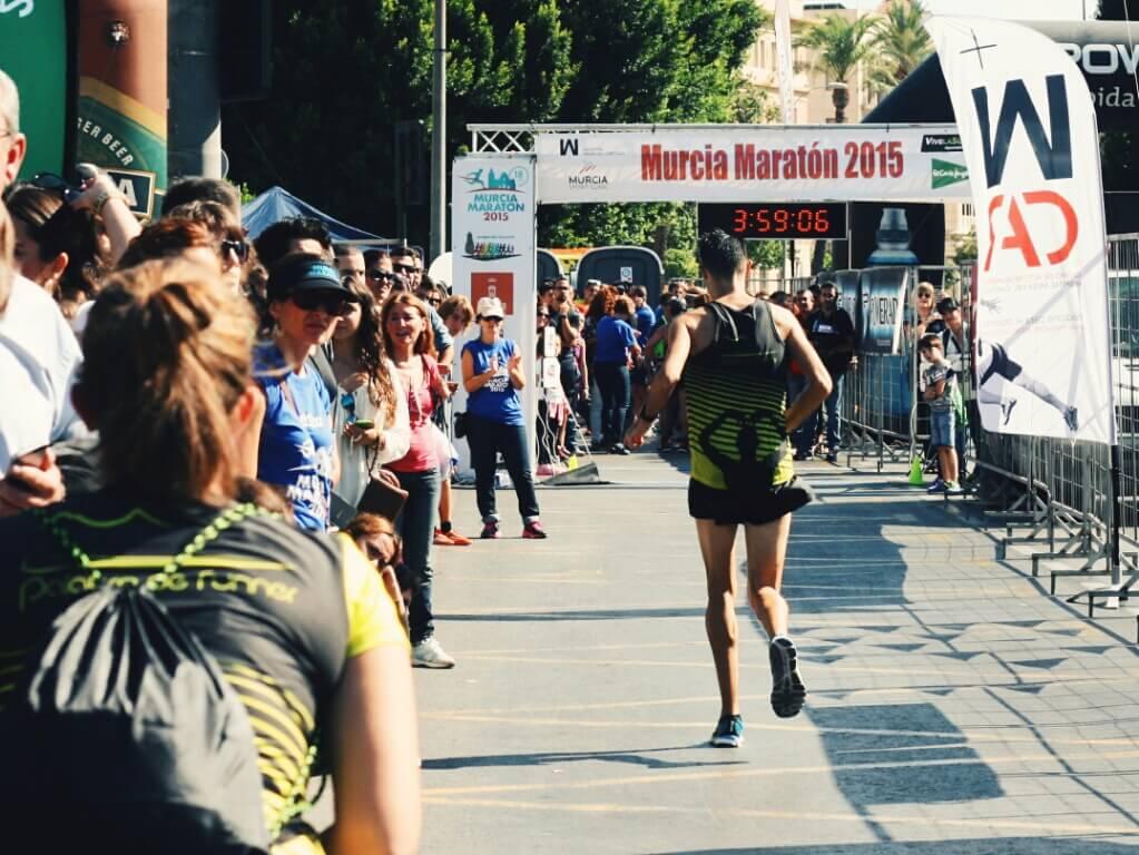 meta primera maratón palabraderunner murcia