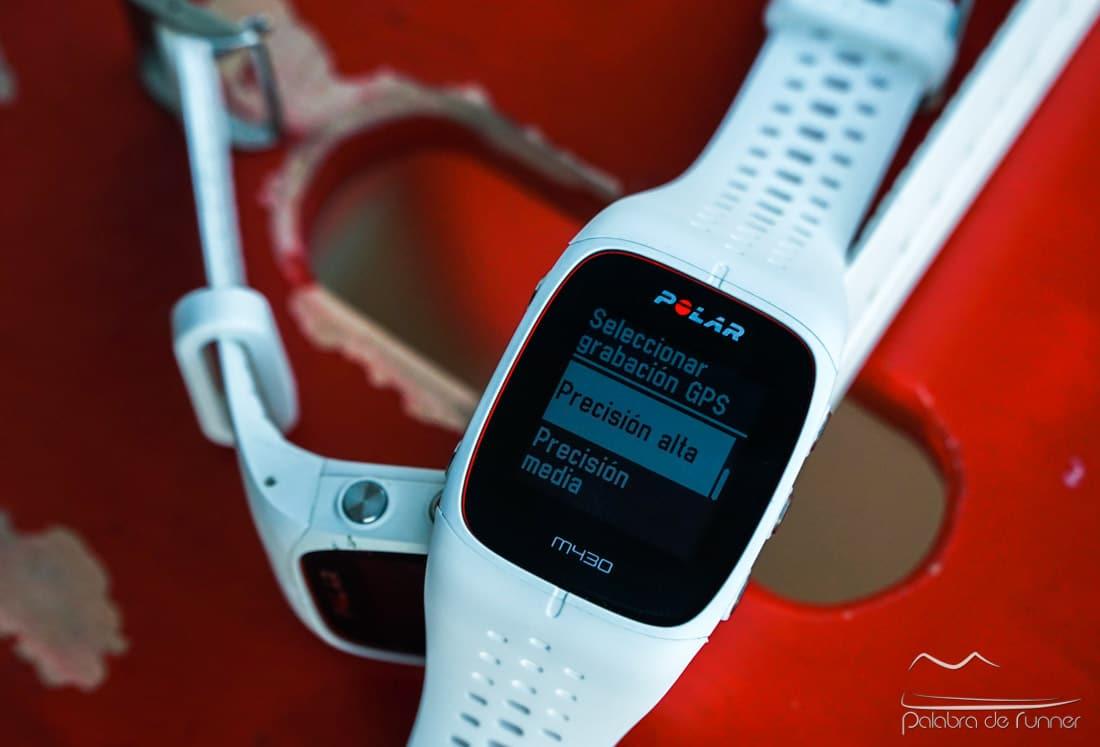 Precisión GPS Polar M430